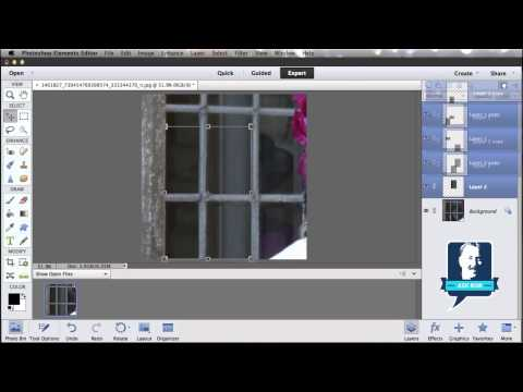 Remove Window Reflection In Photoshop Elements
