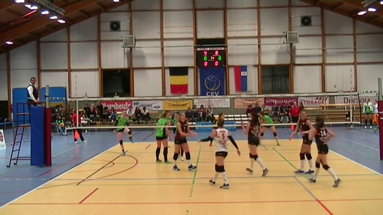 European Challenge Cup Hermes Oostende (Belgium) vs. OK Tent Obrenovac (Serbia) & European Challenge Cup Hermes Oostende (Belgium) vs. OK Tent ...