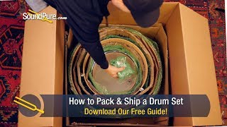 How to Pack and Ship a Drum Set - Step by Step Instructions