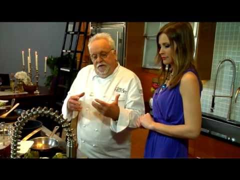 Walter Staib makes Basil Shrimp and Brook Trout
