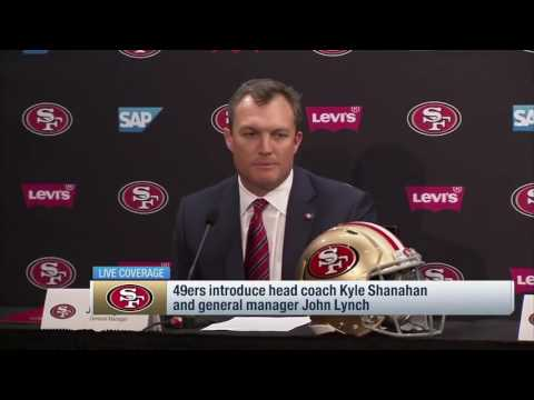 John Lynch I promise you we will assemble a team to make you proud   Feb 10, 2017