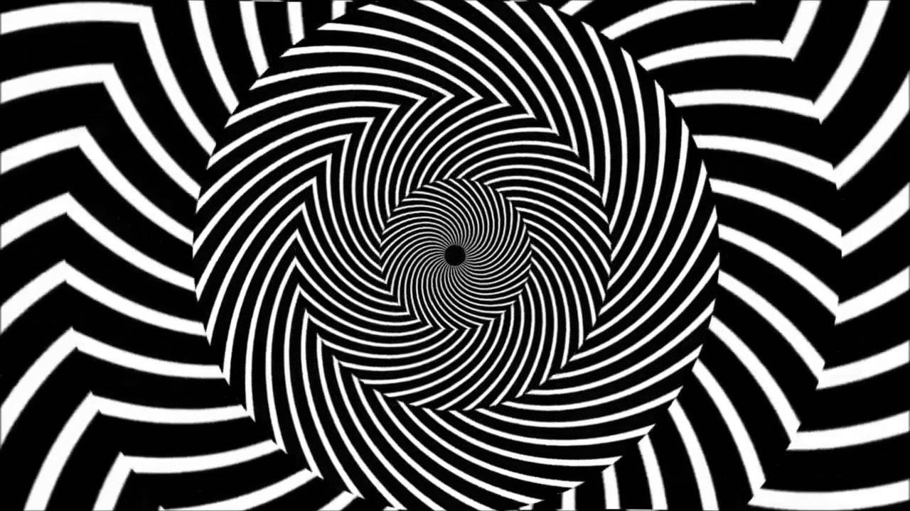 illusions trippy optical illusion spiral hypnotic trick eye hypnosis psychedelic hypnotized tricks visual eyes cool swirl mind pattern