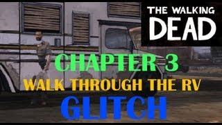 The Walking Dead RV Glitch | I can walk right through it??? | SPIKETHECAT