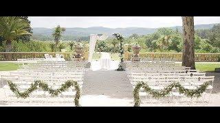 Chateau de Robernier wedding, provence wedding venue france