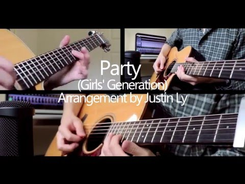 Girls' Generation (SNSD) - PARTY (Acoustic Guitar Cover)