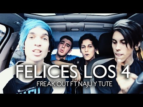 Freak Out - Felices Los 4 (Maluma Pop Rock Cover feat. Naju y Tute)