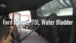 Ford Ranger Fleximake 70L Water Bladder