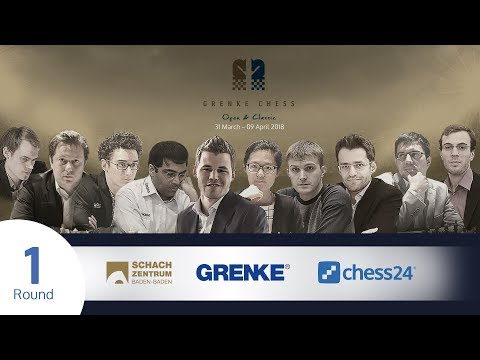 Round 1 - 2018 GRENKE Chess Classic - Live commentary