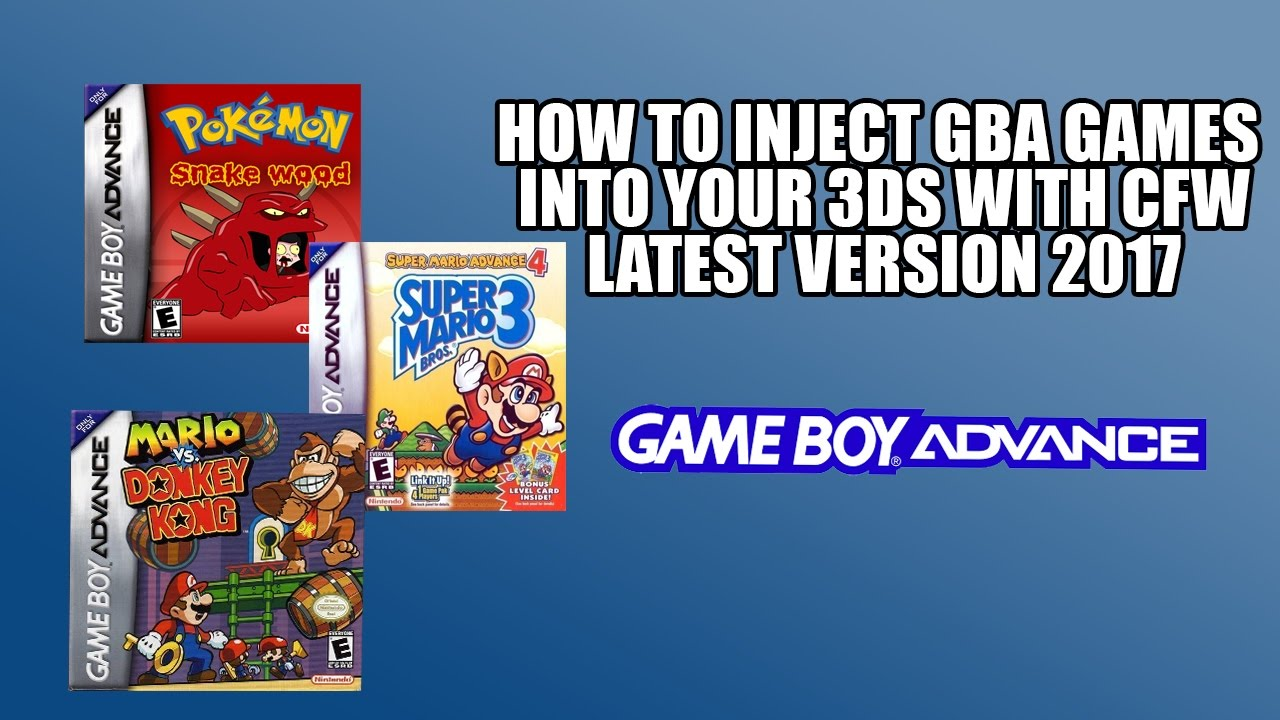 Pokemon gameboy color roms - How To Get Any Gba Game Using Cfw On 3ds Even Pokemon Rom Hacks Latest Version 2017