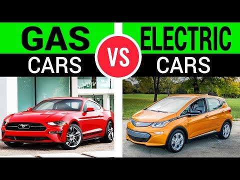 """Image result for gas vs. electric cars"""""""