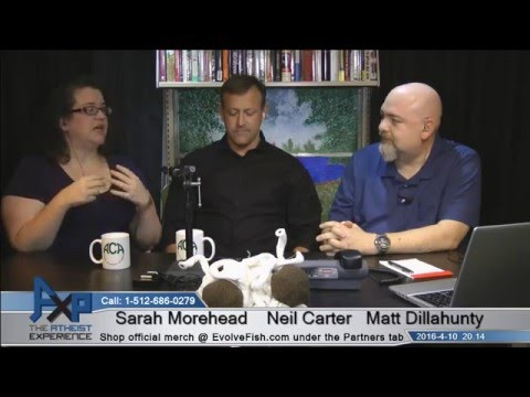 Atheist Experience 20.14 with Matt Dillahunty, Sarah Morehead, and Neil Carter