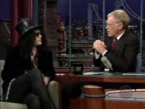 Slash On Letterman
