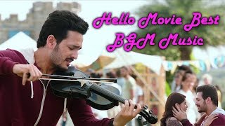 Akhil Hello BGM Best edit | Best BGM for ever in telugu | Best violin instrumental