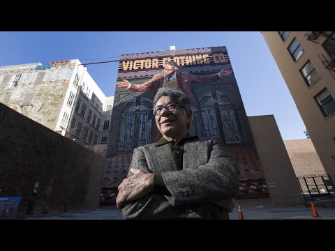 'Pope of Broadway' mural restored by original artist