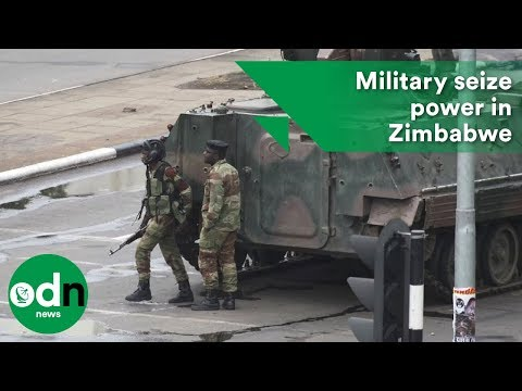 Military seize power in Zimbabwe