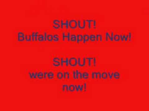 Buffalo Bills Shout song!