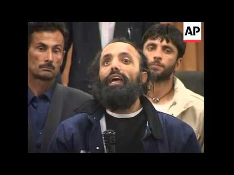 Former Guantanamo prisoners return to Kabul after release