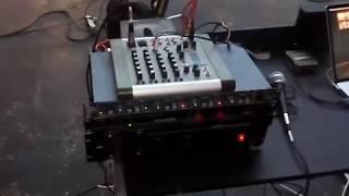 Комплект звука Fender Squier & Sub на съемках клипа Сальто Назад (часть 1)