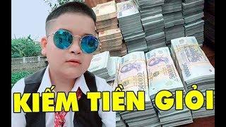 Choa'ng khi biết được thu nhập hàng tháng của Cu Thóc chàng diễn viên cao 1m4 dù đã hơn 20 tuổi