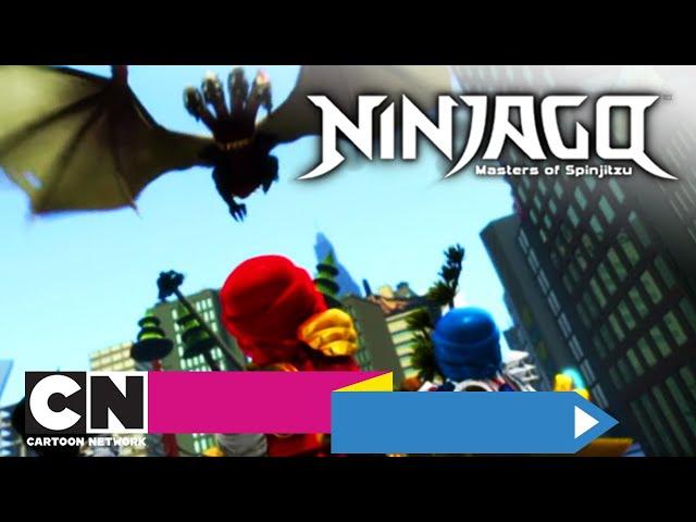 LEGO Ninjago | 13. De Dag van de Grote Verslinder (volledige aflevering) | Cartoon Network