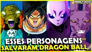 10 PERSONAGENS QUE SALVARAM DRAGON BALL E 10 QUE ARRUINARAM