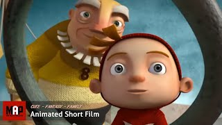"CGI 3D Animated Short Film ""A CLOUDY LESSON"" Cute Fantasy Animation by Ringling"