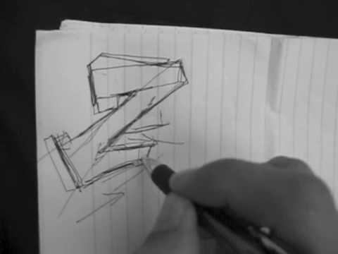 Reskew's Graffiti Tutorial #6 Letter Structuring Technique Essentials
