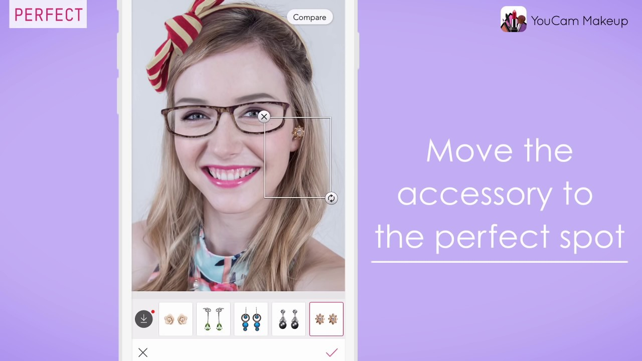 Tutorial how to put on accessories in youcam makeup youtube tutorial how to put on accessories in youcam makeup baditri Gallery