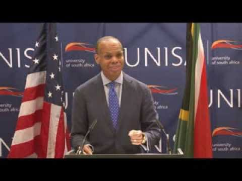 U.S. and South Africa: Facing Today's Challenges for Tomorrow's Opportunities: Remarks