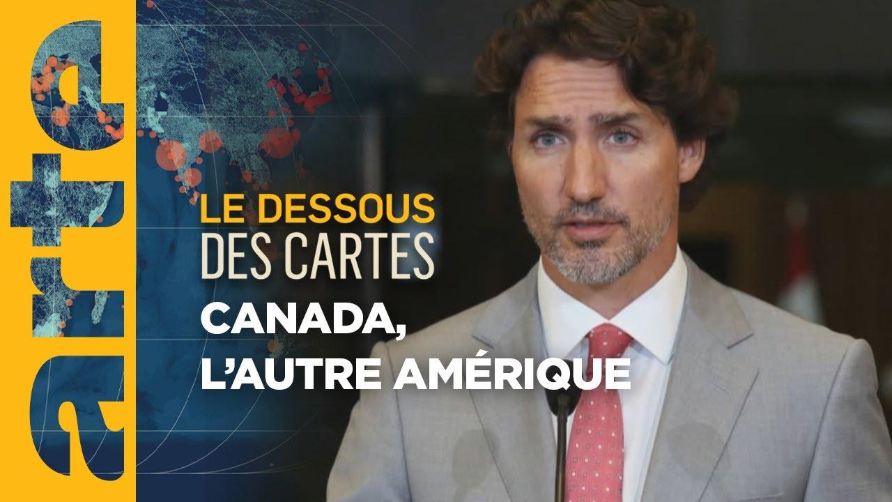 Canada : l'autre Amérique ? - Le Dessous des cartes | ARTE