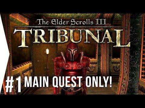 Morrowind: Tribunal ► #1 Dark Brotherhood Attacks! - [Main Quest Only + Overhaul]