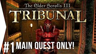 morrowind: Tribunal  #1 Dark Brotherhood Attacks! - Main Quest Only  Overhaul