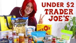 BEST Trader Joe's Products Under $2 | Healthy Trader Joes Haul