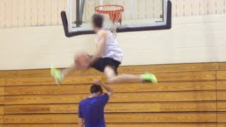 6'1 Jordan Kilganon BEST DUNK MIX OF THE YEAR!!!!! J-Rich Dubble up, mill over 3, etc...