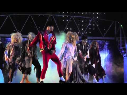 THRILLER LIVE ZENITH DE PARIS THRILLER 09 JUIN 2012