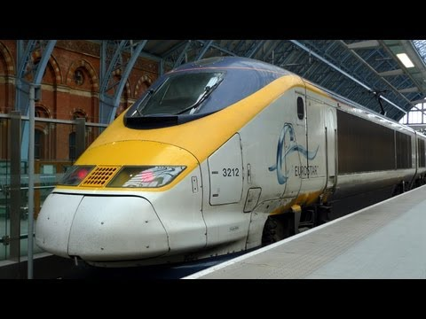 London to Paris by Eurostar - video guide