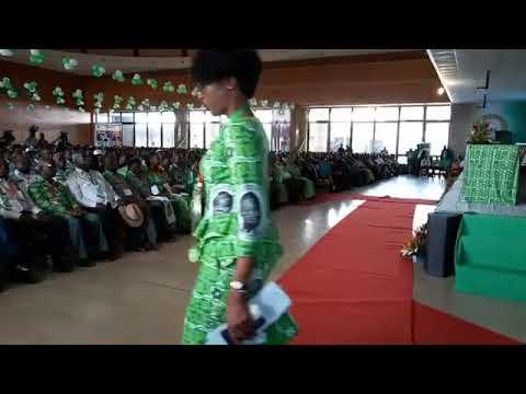 6ème congrès extraordinaire du PDCI RDA : prestations d'artistes ,discours d'Affi