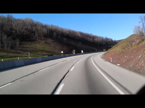 Short Video of the Pennsylvania Wilds on Westbound Interstate 76