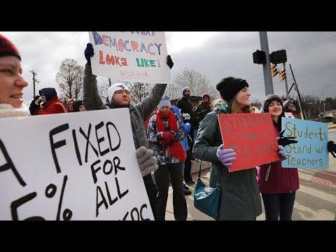OK Teachers Strike, Paid CRIMINAL Wages