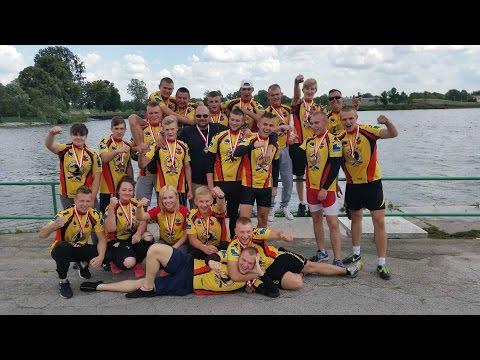 Mistrzostwa Polski Smoczych Łodzi W Bydgoszczy. Reprezentacja Malborka - 18-19.06.2016