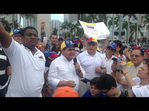 Rally in Support of Leopoldo Lopez and a free Venezuela pt. 4