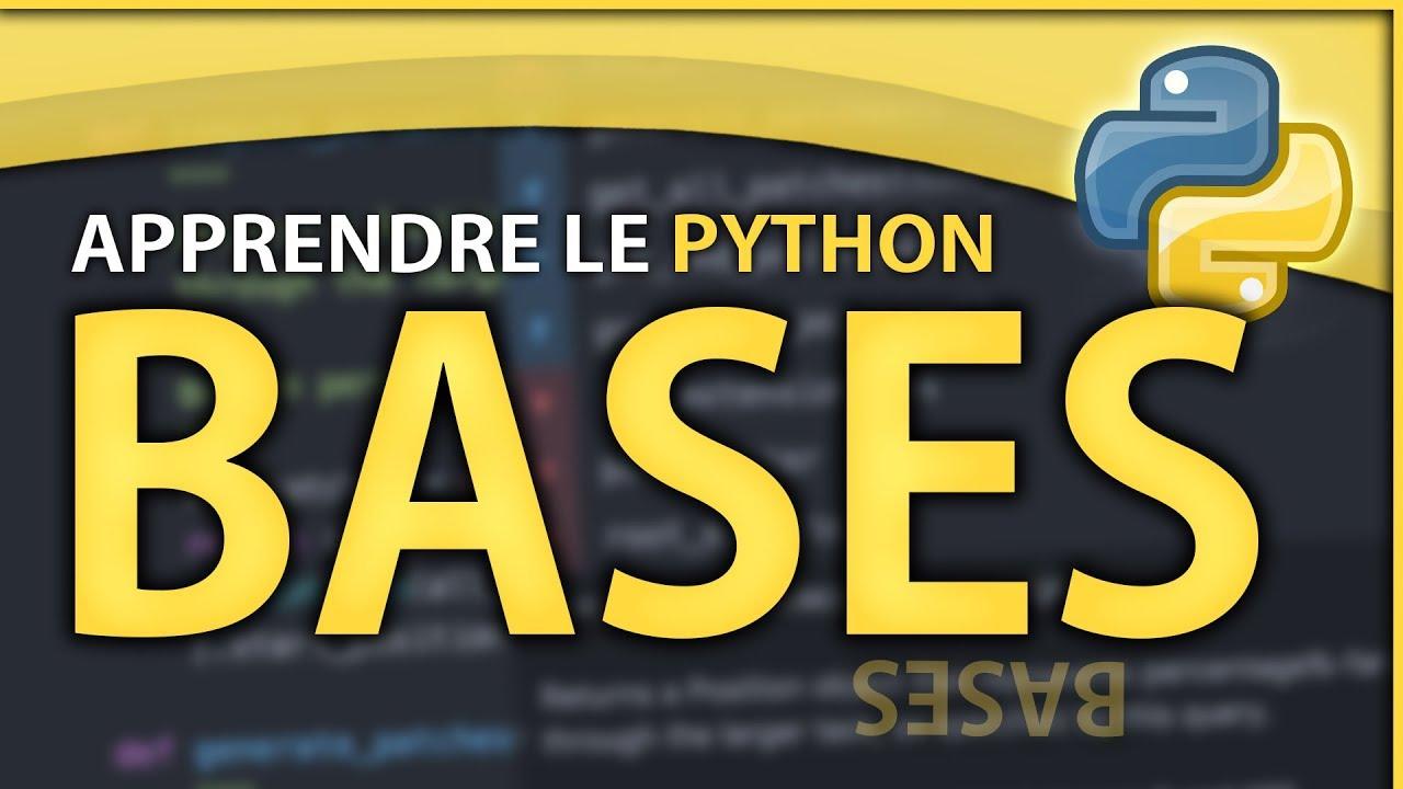 Download APPRENDRE LE PYTHON #1 ? LES BASES & PREREQUIS