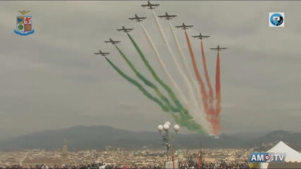 Cerimonia Del 95 Anniversario Dellaeronautica Militare Youtube