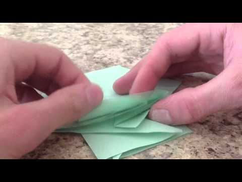 How to Fold a Rhombic Prism by Jonathan Graham