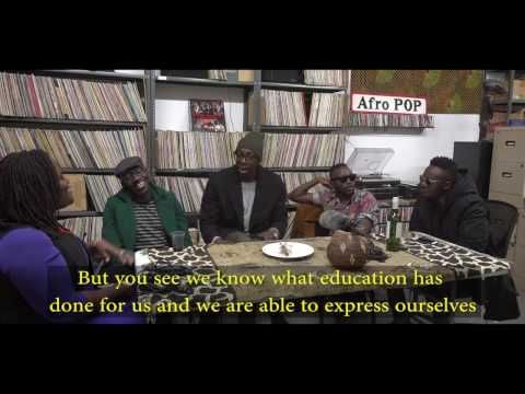 Sauti Sol Comes to Brooklyn: Interview with Afropop Worldwide