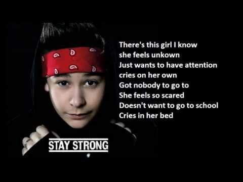 Bars and Melody - Stay Strong (Lyrics + Pictures)