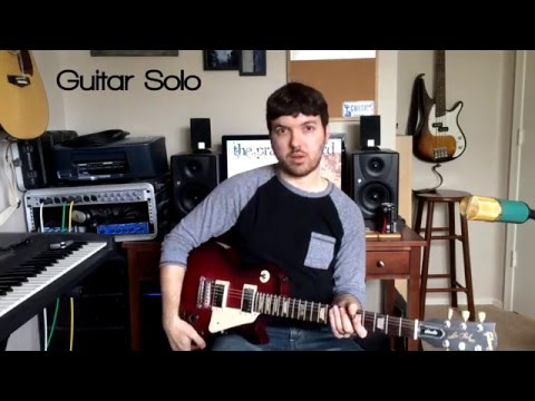 You Will Never Run (Rend Collective) - Lead Electric Guitar Tutorial