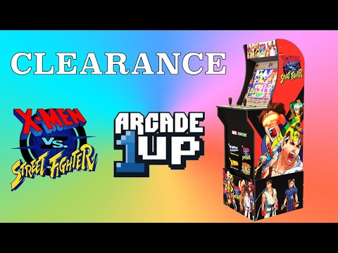 Arcade1Up X Men vs Street Fighter   Clearance from Original Console Gamer