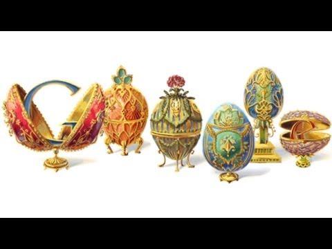 Carl Peter Faberge - Google Doodle HD