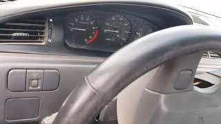 92-95 Honda civic instrument cluster removal